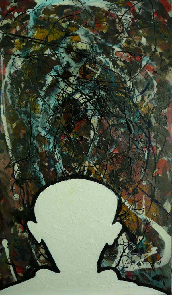 Ravollock (ode aan Raveel en Pollock)